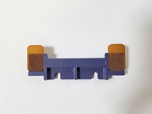 A924697-02	DOUBLE FEED STOP PLATE(PURPLE) VAC100 FIG 4/36, CFS9R 4/22, BQ270 36/8